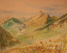 Title:  Boulder Colorado Painting  Artist:  Maestro