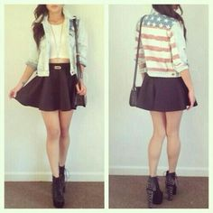 Fashion#American flag