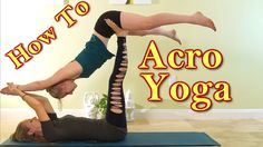 Learn how to do ACRO YOGA!!  Please show Meera & Katrina some LIKE, SHARE & COMMENT LOOOOOVE!!!