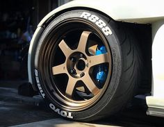 Nice combo. Volk Racing #TE37VmkII, Toyo Tires R888 and Spoon calipers. #s2000  Repost: @s2boost