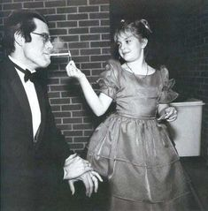 Stephen King and Drew Barrymore