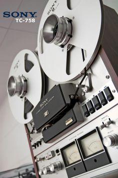 SONY TC 758 - Exploration de vos bandes magnétiques, transfert, copie, restauration, numérisation - www.remix-numerisation.fr