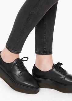 Chaussures plateforme - Chaussures pour Femme | MANGO