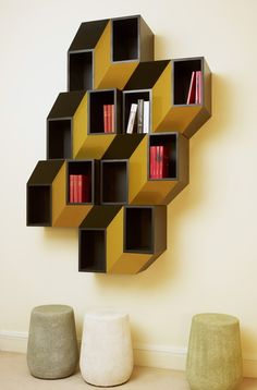 Kineticism I, Wall Cabinet & true functional painting