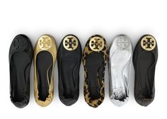 Tory Burch ballet flats. I will gladly take them all <3
