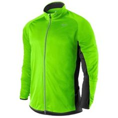 Nike Element Shield Running Jacket - Men's - Running - Clothing - Electric Green