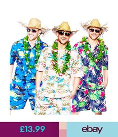Be the best dressed bum on the beach in this fantastic short and shirts combo - and add a hat for that totally tropical taste.