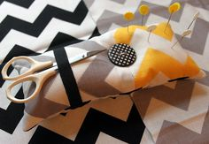 Chevron Pin Cushion DIY