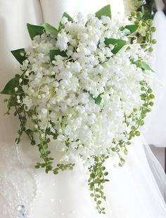 Small Wedding Bouquets, Flower Bouquet Wedding, Floral Wedding, Luxury Flowers, Exotic Flowers, Beautiful Flowers, Phalaenopsis Orchid, Lily Of The Valley, Holidays And Events