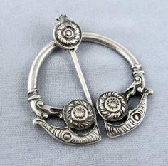 Beautiful 19th C Scottish Kilt Pin - Sterling Silver