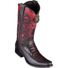 0659148d0ce Men s Los Altos Caiman Belly Boots With Deer European Square Toe Handcrafted  - yeehawcowboy Los Altos