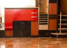 Art Deco Interior. NYC. @designerwallace