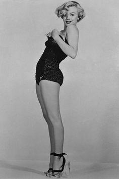 Marilyn Monroe en una imagen de archivo de 1951. Heels. Classy. ♥