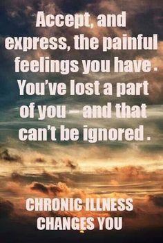 Acceptance....the hardest part for me. #pain #chronicpain #illness