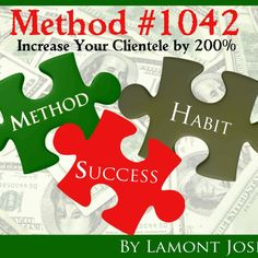 "Method 1042 ""Increase Your Clientele by 200 %  for $25.00 on Square Market"