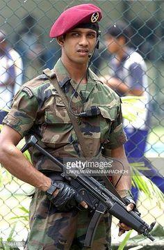 A Sinhalese Sri Lankan Commando