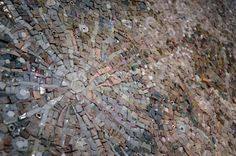 DREAMING THE MOON (particolare) Mosaic by Dino Maccini