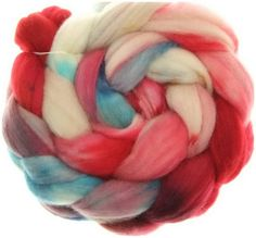 Merino Nylon No. 63  handyed combed top roving for spinning #16769 von dibadufibers auf Etsy