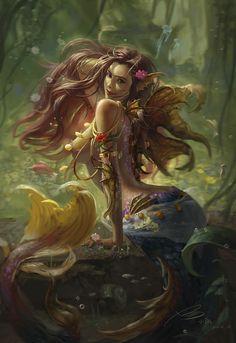 """art-of-cg-girls: """"by Yang xiao tiao """""""