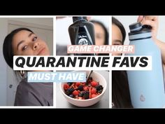 QUARANTINE FAVS // April must haves Cocao Nibs, Gallon Water Bottle, Ab Roller, Frozen Fruit, Pina Colada, Must Haves