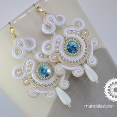Soutache_white_bridal_earrings