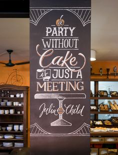 Love this quote and chalkboard #honestlettering! | Prestinaria Chalkboards on…