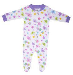 Funkoos Organic Butterfly Garden Sleepsuit (0-3 « Clothing Impulse