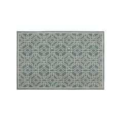 Mohawk® Home Reflections Abbot SmartStrand Geometric Rug, Med Blue, Durable