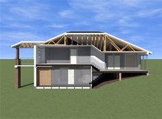 1000 images about interior design class on pinterest for Side split house designs