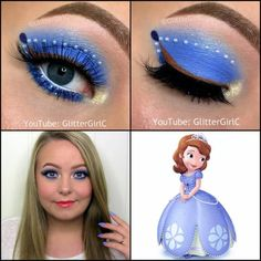 Disney Sofia the First Makeup. Youtube channel: full.sc/SK3bIA
