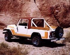 Jeep® Heritage | 1981–1985 Jeep CJ 8 ScramblerJeep® Heritage | 1981–1985 Jeep CJ 8 Scrambler photo