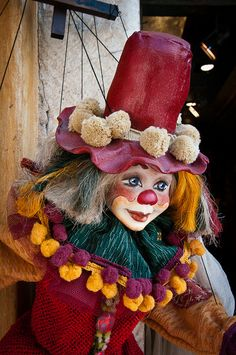 *BE A CLOWN, BE A CLOWN ~ Puppet