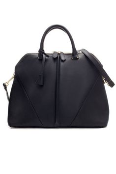 Zara City Bag With Shoulder Strap, $99.90;