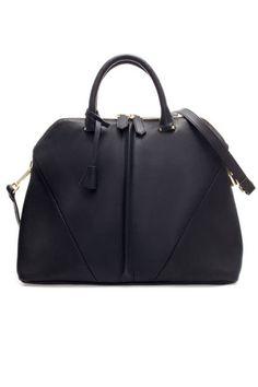 Zara City Bag With Shoulder Strap, $99.90;