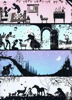 Raperonzolo – le illustrazioni di Sarah Gibb | Il cantafiabe smemorato