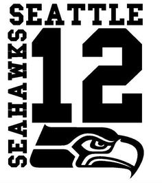 Seattle Seahawks 12th Man Fan Car Decal for Wall Man Cave or Vehicle You Choose #SeattleSeahawks