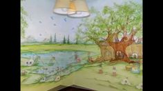 Πώς ζωγραφίζεται ένα παιδικό δωμάτιο, με φωτογραφίες πριν, κατά την διάρκεια  και το τέλος του έργου.