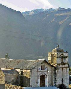 Pinchollo Church, Colca Canyon, Peru
