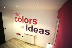 """Recepción Pantone """"the colors of ideas"""""""