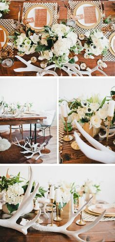 Gorgeous tapletop ideas from Beijos Events + Megan Welker Photography, MV Florals