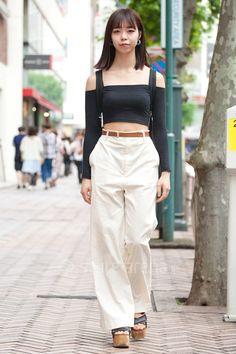 日野マイカさん | American Apparel  OPENING CEREMONY handmade CELINE agnès b. | 2016年 6月 第4週 | 渋谷 | 東京ストリートスタイル | 東京のストリートファッション最新情報 | スタイルアリーナ