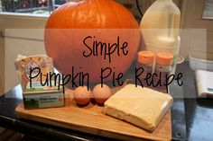 If you're anything like me and can't resist a good bargain, then you too will probably have been tempted by the post-Halloween reduced pumpk. Pumpkin Pie Recipes, Posts, Simple, Food, Messages, Essen, Meals, Yemek, Eten