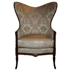 1930's Butterfly Wing Back Chair  #huntersalley $595