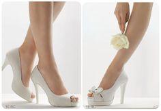Se puede usar un zapato con lazos en la boda? lee este articulo de moda para novias!