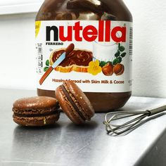 Nutella French macaroons