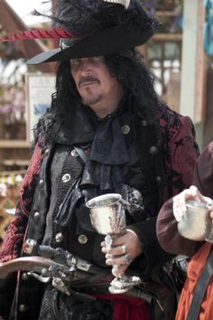 The Pirate is from Renaissance Faire, Irwindale, California. Visitors are encouraged to wear costumes, contributing to the illusion of an actual Renaissance environment. Pirate Photo, Pirate Wedding, Steampunk Pirate, Halloween Costumes, Pirate Costumes, Shot Photo, Renaissance Fair, National Geographic Photos, Amazing Photography
