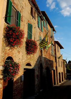 Montepulciano, Tuscany, Italy was a beautiful brief afternoon on our tour
