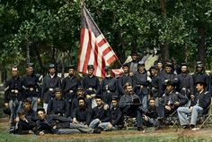 In a related image to the one I did of the officer's mess, here's an image of the entire company. So much detail to see in this, hope you enjoy as much as I did colorizing it. 93rd New York Infantry Co F  Aug 1863 Bealeton, Virginia.