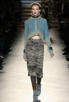 Missoni / The color of this knitwear looks lile denim item.