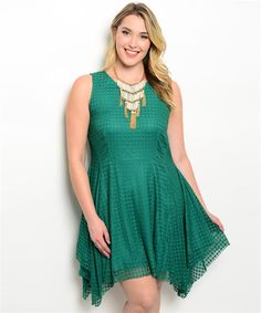 Our Posh Green Dress is flawless.